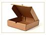 Коробка картонная плоская
